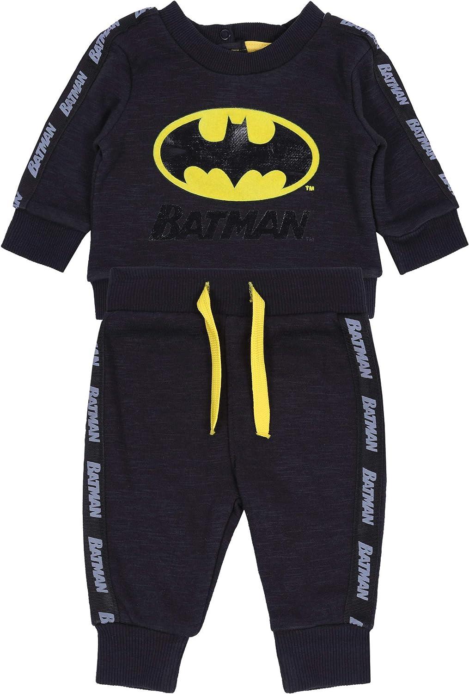 Batman -:- DC COMICS Chándal Negro 18-24 m 92 cm: Amazon.es: Ropa ...