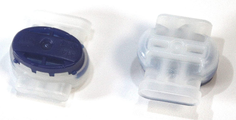 Contenido:5x314 Conectores de Cable terminales conexi/ón Robot cortac/ésped Impermeable genisys Bosch Indego Comp Original 3M Scotchlok