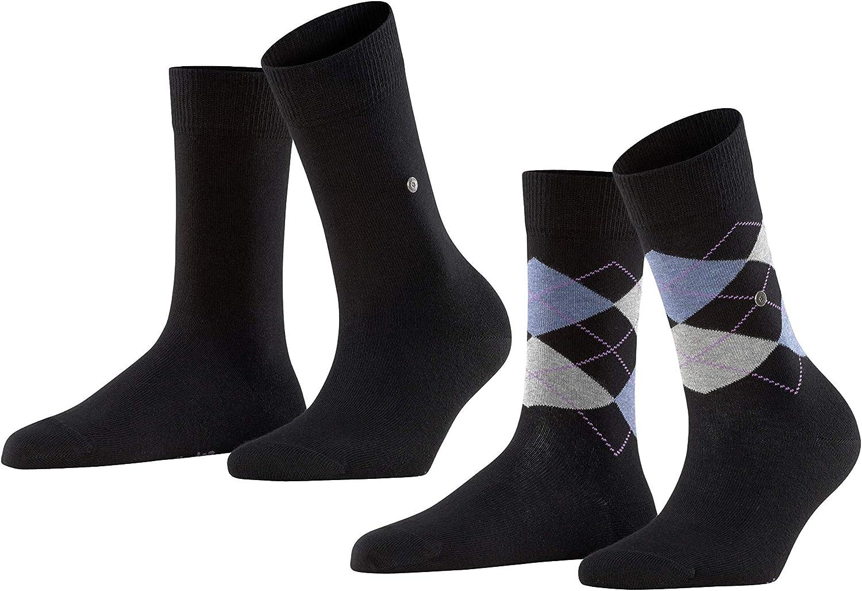 Burlington Ladies Socks Tulsa Mall Everyday Mix 2er - Be super welcome Uni and O Pack Rhomb