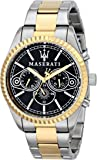 Maserati - R8853100008 - Montre Homme - Quartz Analogique - Bracelet Acier Inoxydable Multicolore