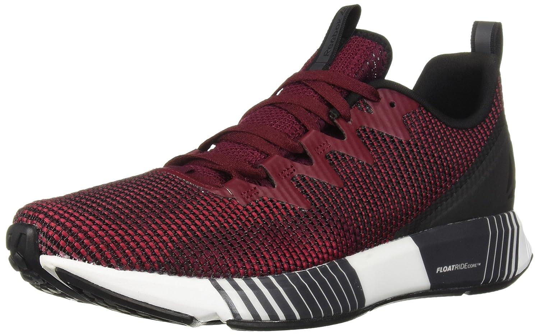 Reebok Men's Fusion Flexweave Sneaker B077ZHTHXC 11.5 D(M) US Black/Rustic Wine/Cranberry