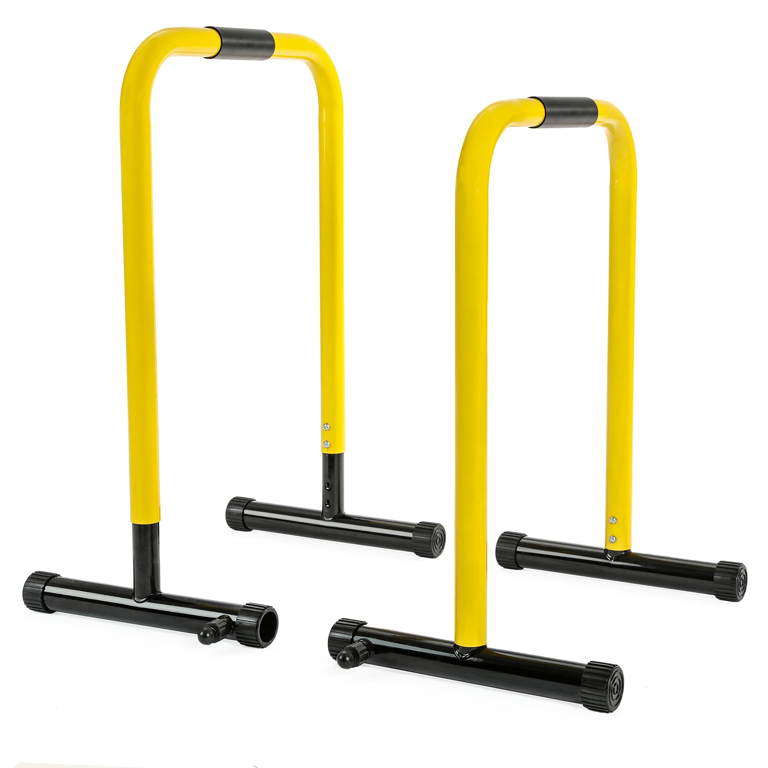 RELIFE REBUILD YOUR LIFE Dip Station Functional Heavy Duty Dip Stands Fitness Workout Dip bar Station Stabilizer Parallette Push Up Stand by RELIFE REBUILD YOUR LIFE (Image #7)