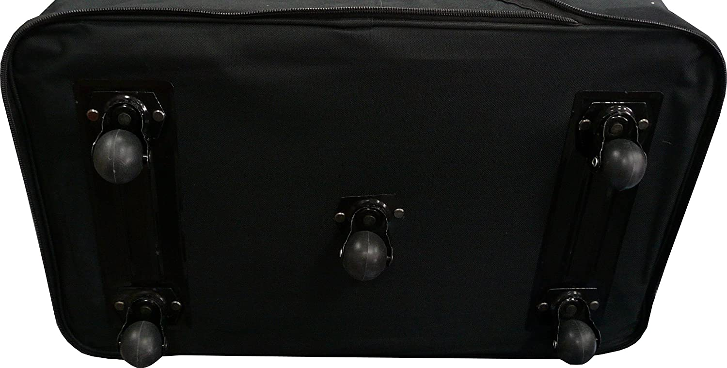 36 Rolling Wheeled Duffle Bag Spinner Suitcase Luggage Expandable