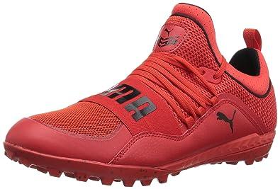 3844759b8 PUMA Men s 365.18 Ignite ST Soccer Shoe Flame Scarlet Black