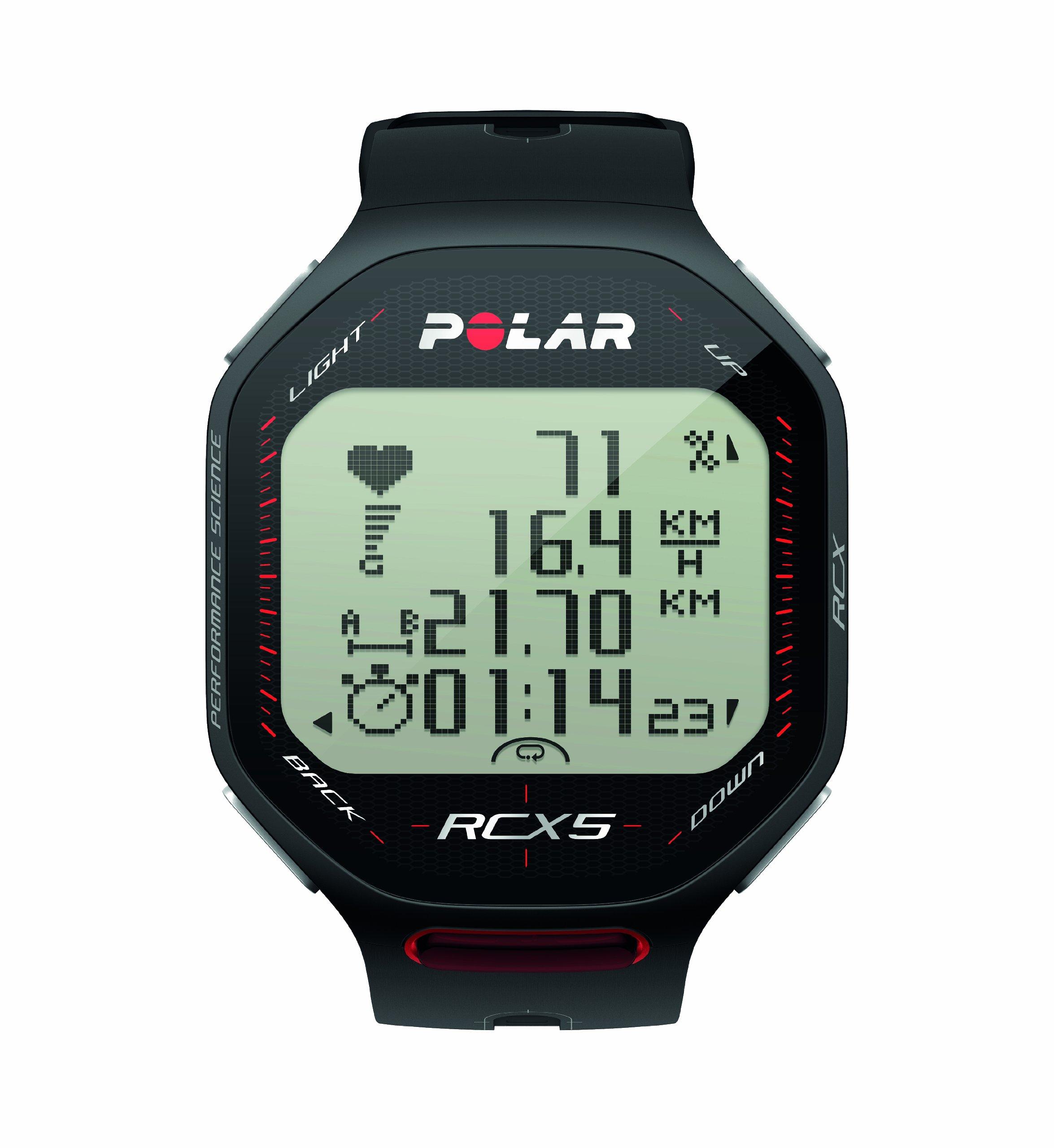 Polar Bike computer with heart monitor RCX5 GPS black