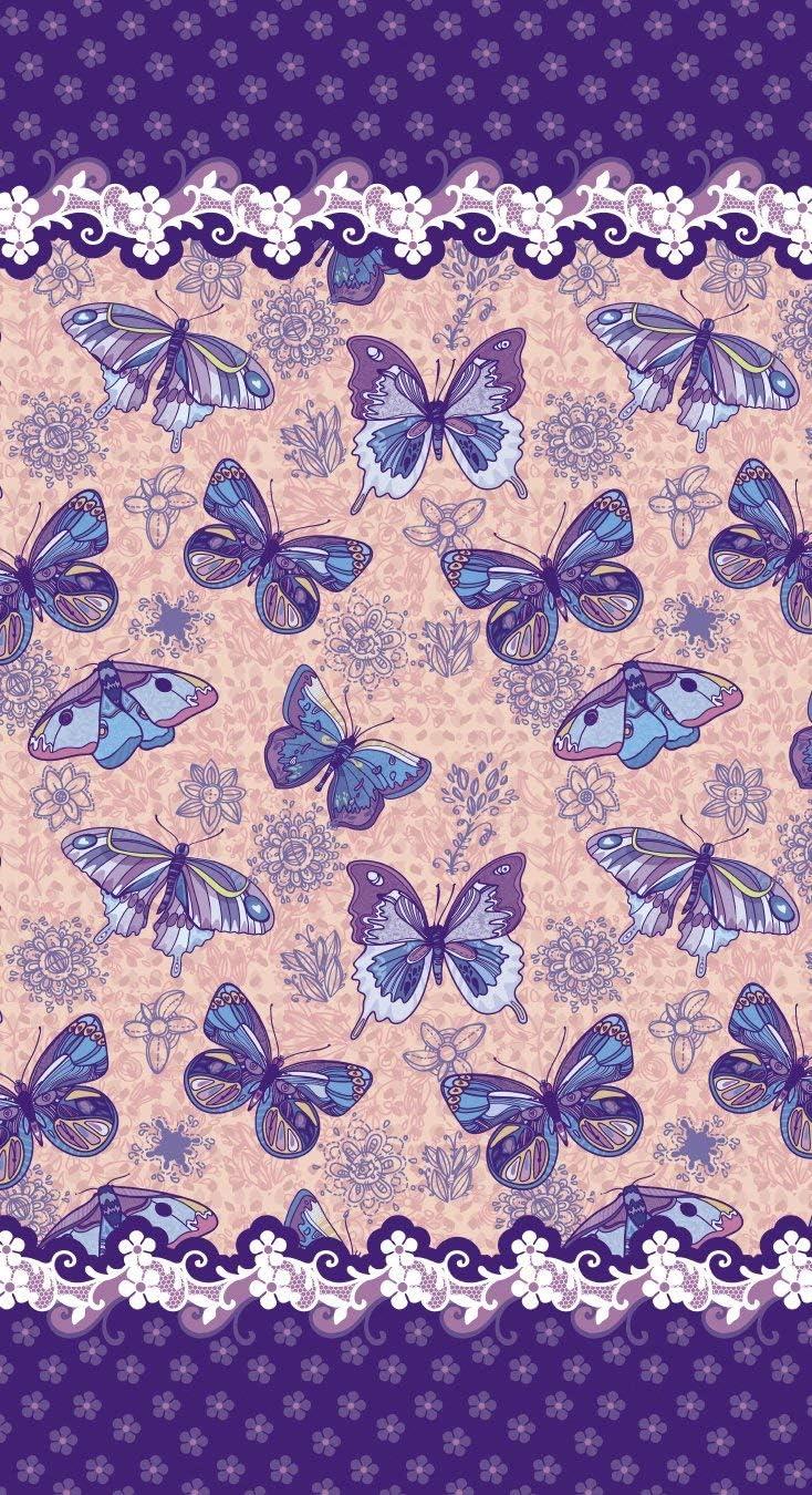 70 cm x 140 cm Papillon Violet Drap de Douche//Plage YISUMEI