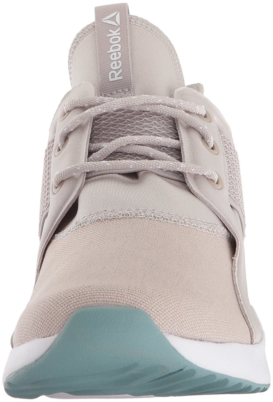 Reebok Women's Guresu 1.0 Running Shoe B076HVD7VH 9 B(M) US|Sand Stone/White/Whisper