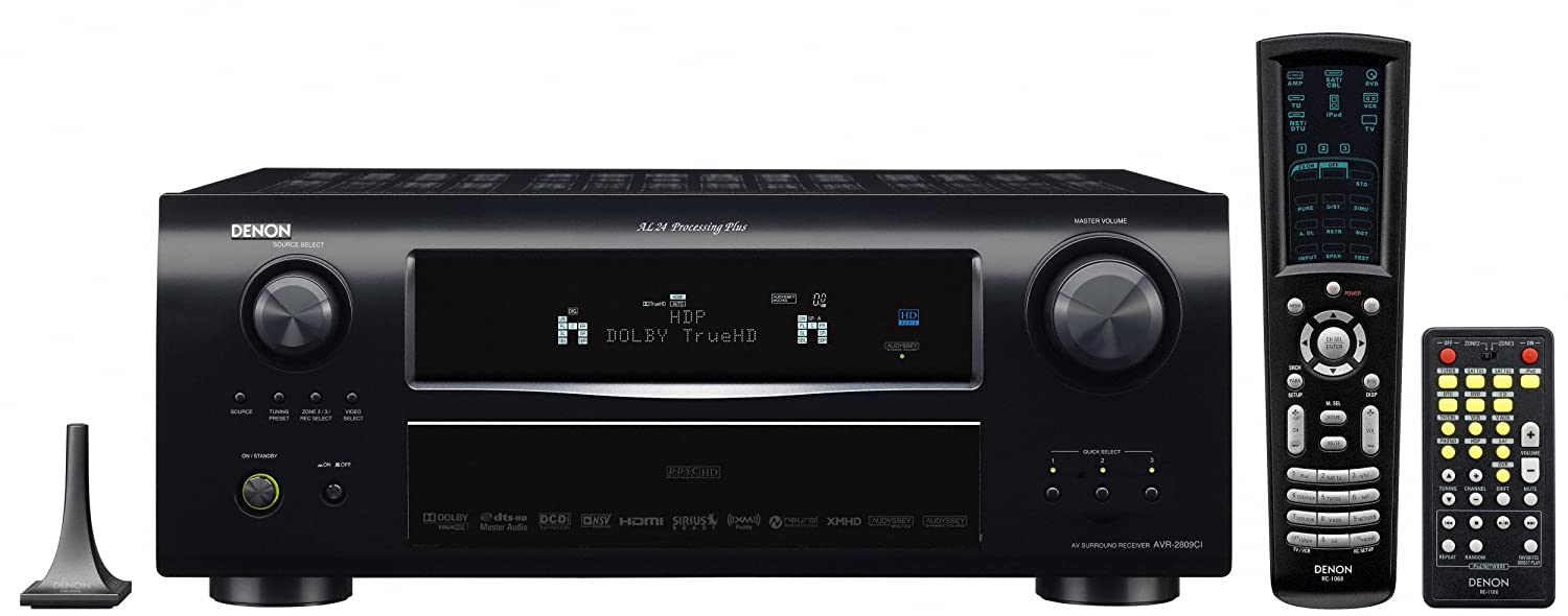 amazon com denon avr 2809ci 7 1 channel multizone home theater rh amazon com Denon AVR 989 Manual Denon AVR- 3300