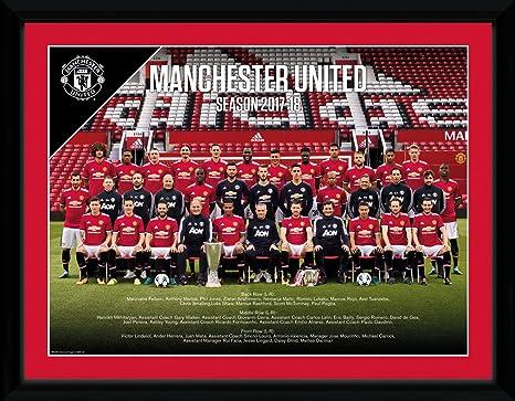 GB eye PFC2753 Manchester United Team Photo 17 18 Framed Print  Amazon.ca   Home   Kitchen 94f21d81a