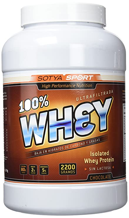 SOTYA Proteína Whey 100% Chocolate Belga 2.2 kg