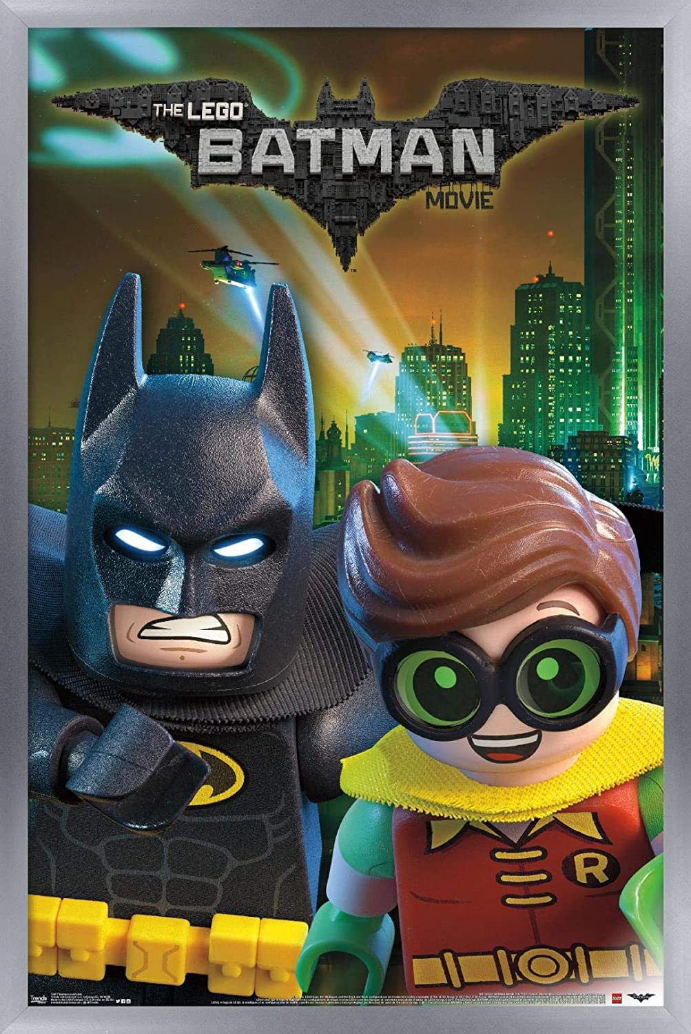 Trends International Lego Batman and Robin Wall Poster, 24.25
