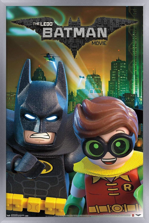 Trends International Lego Batman and Robin Wall Poster, 24.25