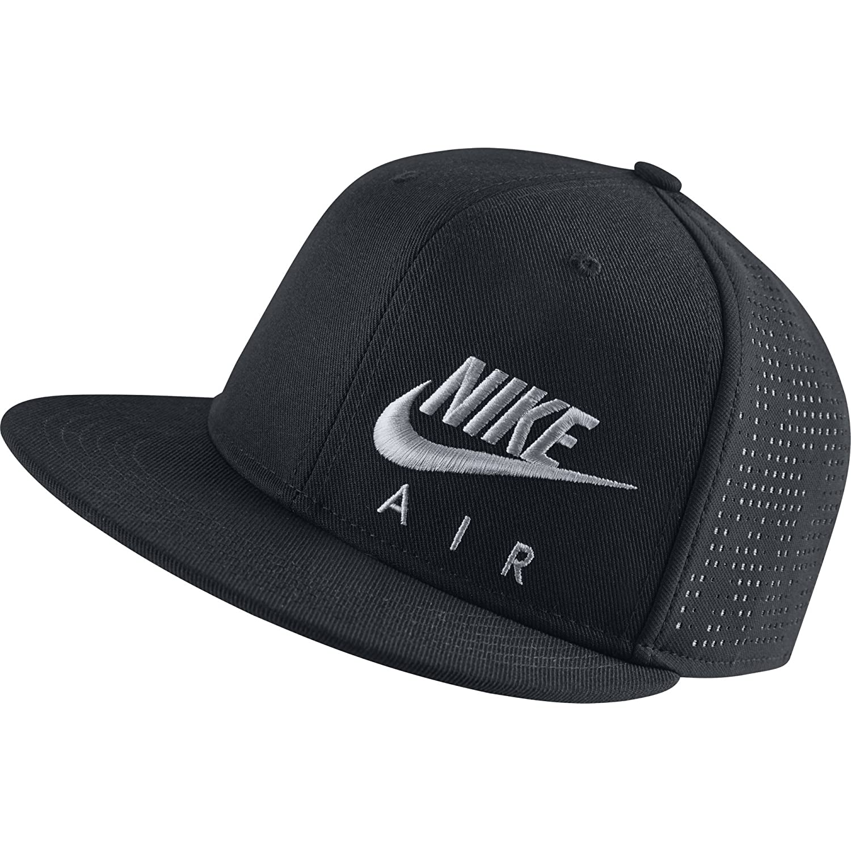 22ce061ab93 ... top quality amazon nike boys air hybrid true adjustable hat one size  black 739424 010 wolf