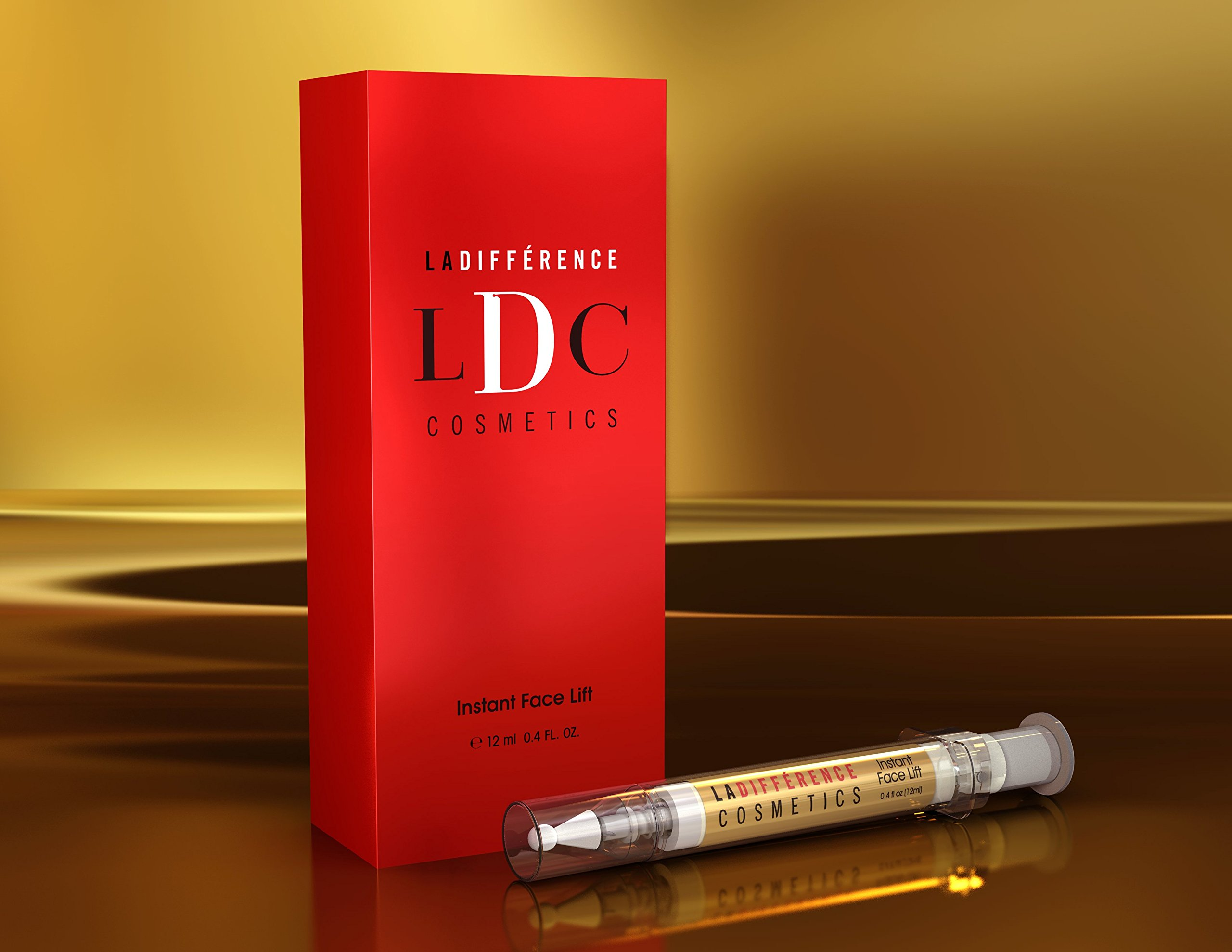 La Différence Cosmetics Instant Face Lift - Erase Wrinkles Instantly, Best Skin Tightening Cream - For Women and Men