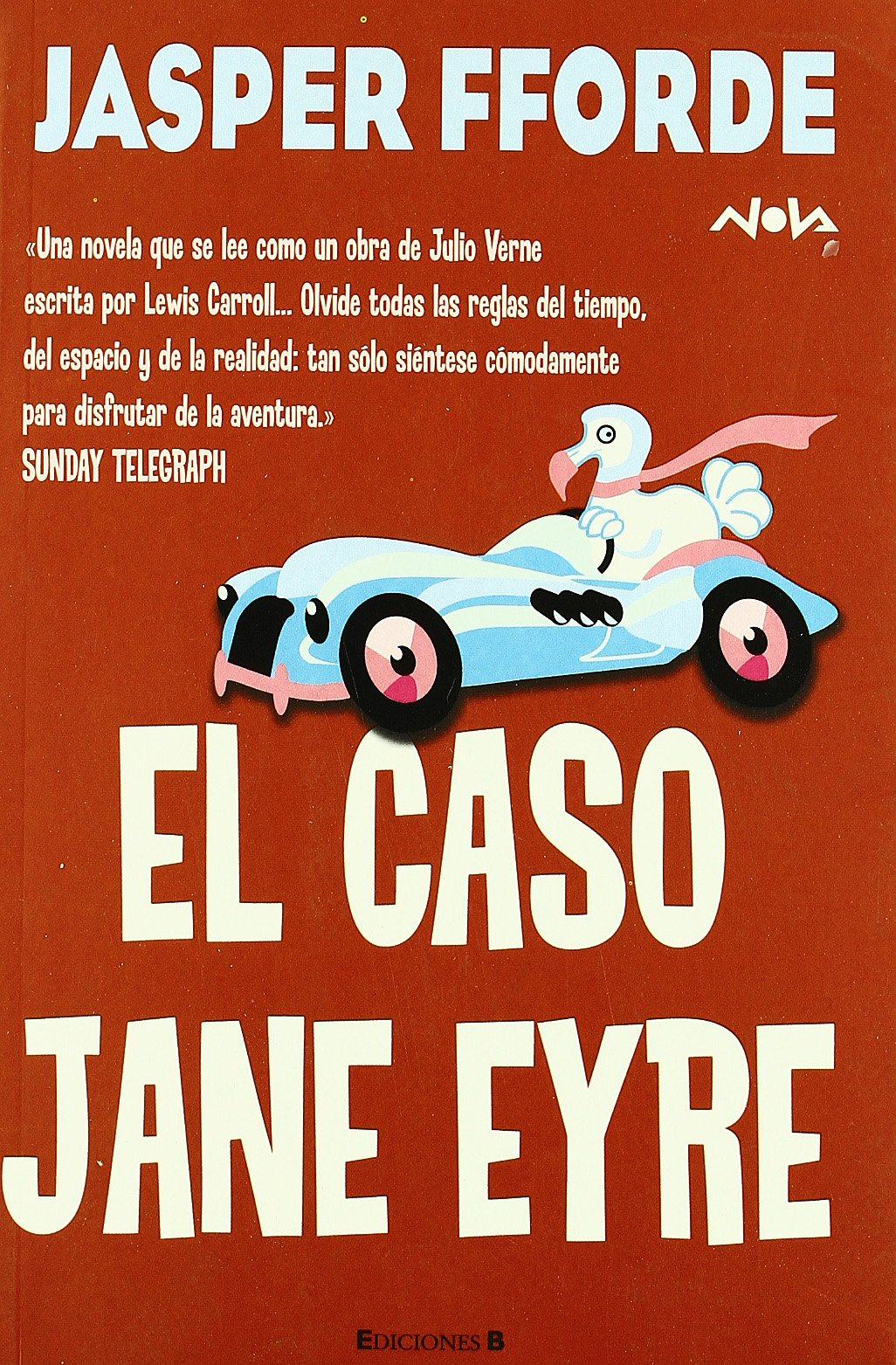 EL CASO DE JANE EYRE: SERIE: THURSDAY NEXT 1ER VOLUMEN NOVA ...
