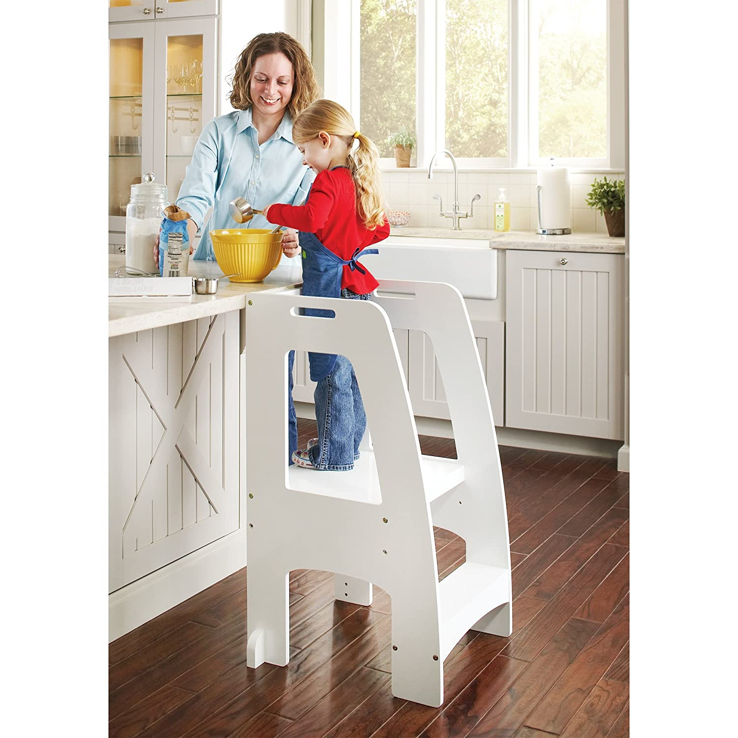 Toddler Learning Tower and Kitchen Helper Step Stool kids ...