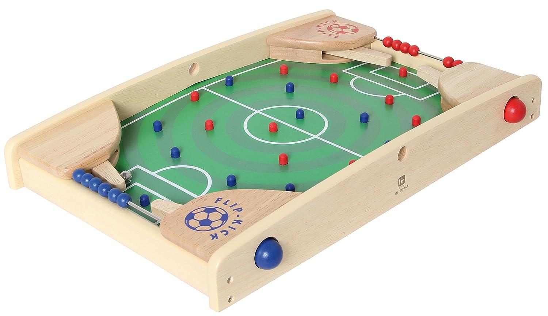 Flip Kick Petit, 43 cm, mélange flipper et kicker, le jeu parfait de compétences de football pour 2 joueurs de tous âges, compact et robuste, adapté à toute table ou plancher et facile à transporter Bartl 101165