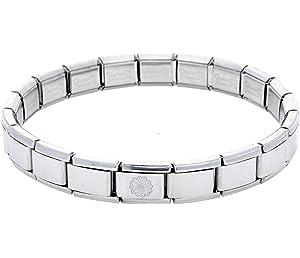 LORNA Name Daisy Charm  Fits Nomination Classic Size Italian Charms Bracelet