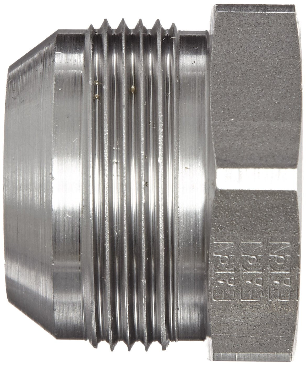 Steel 1//4 JIC x 1//4-Weld-On m JIC 37 Degree /& Weld End Types f End Size Eaton Aeroquip 73014-4S Bore to Male JIC 1//4 Tube OD