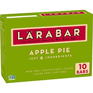 Larabar Gluten Free Bar Apple Pie, Whole 30 Compliant, 16 oz