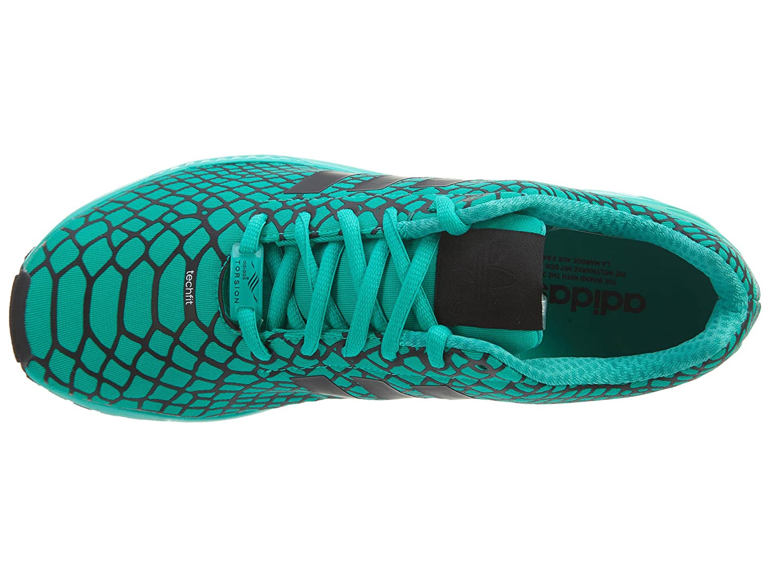 best website 8d9c2 126ab Amazon.com   adidas Zx Flux Techfit Men s Shoes   Road Running