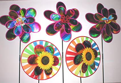 Superbe Wholesale Lot 20 Large Pinwheels Jumbo Garden Yard Lawn Spinners Wind Pin  Wheels