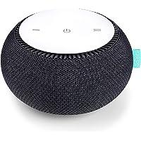 SNOOZ Máquina de sonido de ruido blanco – Ventilador interior real para sonidos de ruido blanco sin bucle – Control…