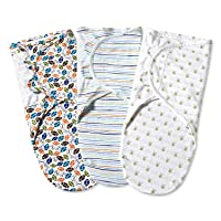 Bubble bear Original Swaddle,Soft Stretchy Comfortable Cotton for Newborn Boys and...