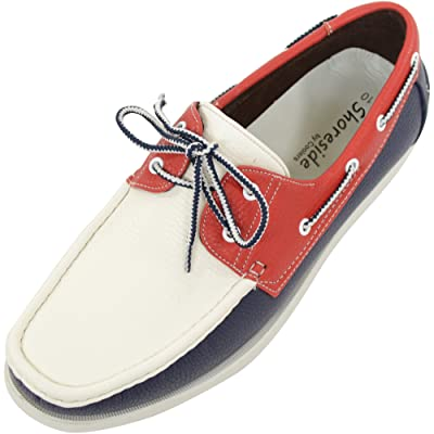 Amazon.com | ABSOLUTE FOOTWEAR Mens Summer/Smart/Casual Lace Up Boat/Deck Shoes/Loafers | Loafers & Slip-Ons