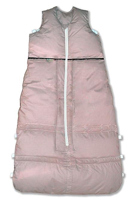 Vita Dormir Saco de dormir (Plumón hendiduras fabricada en Alemania 110 – 90 cm color