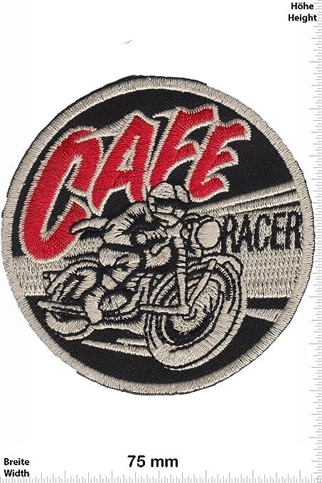 Parches - Cafe Racer - MusicParches - Rock - Chaleco - Parche Termoadhesivos Bordado Apliques - Patch - Give Away Regalar: Amazon.es: Coche y moto