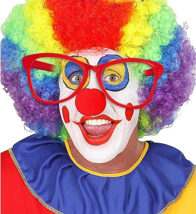 color arcobaleno Clown//Novità//scherzo PAPILLON Costume Accessori