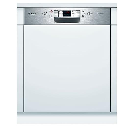 Bosch SMI68M35EU lavavajilla - Lavavajillas (Semi-incorporado ...