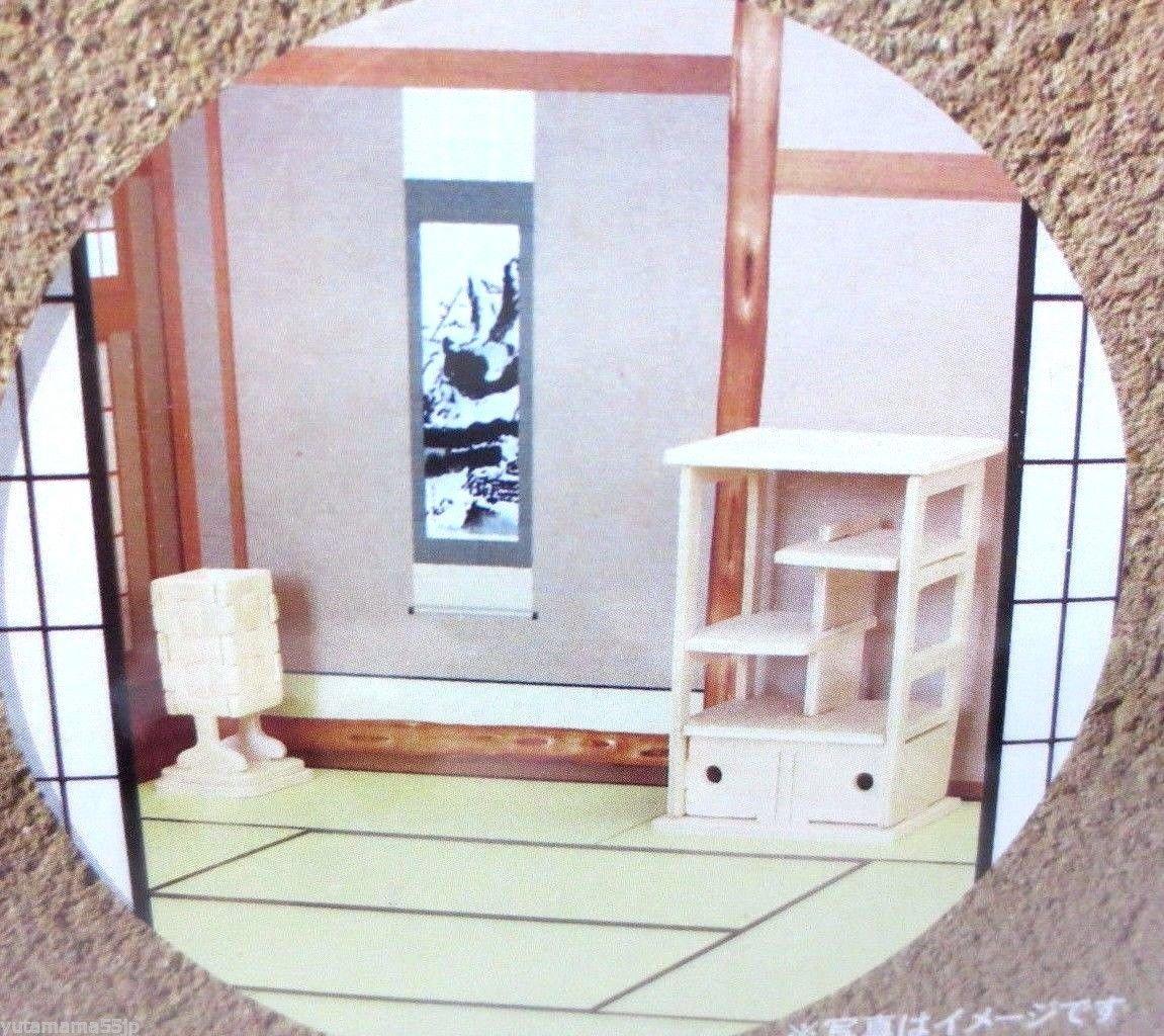 Japanese Wood Craft DIY Kit 3D Miniature Furniture ~ Display