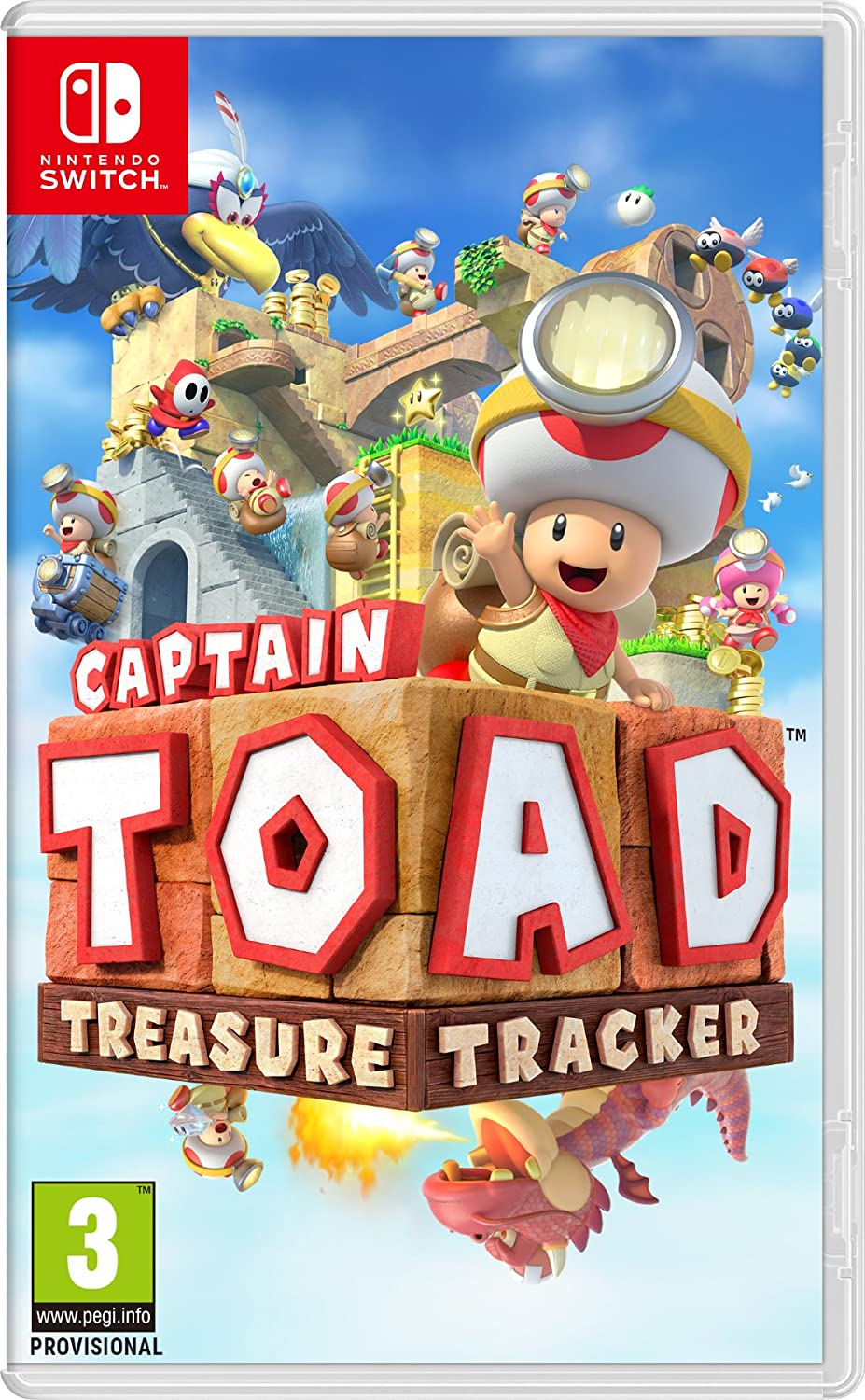 Captain Toad: Treasure Tracker - Nintendo Switch [Importación inglesa]: Amazon.es: Videojuegos