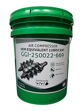 GGI 250022-669 Air Compressor OEM Equivalent Lubricant - 5 Gallons - Sullube 32 Synthetic Oil Replacement: Amazon.com: Industrial & Scientific