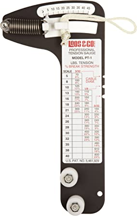 Sailboat Rigging Tension Gauge from Loos & Co., PT-1 Professional ...