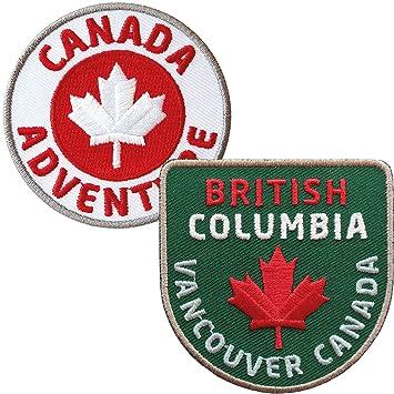 Aufnäher Kanada British Columbia Patch Flagge Fahne