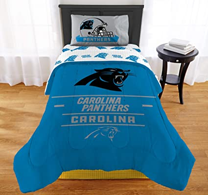 """552f363251c Image Unavailable. Image not available for. Color: The Northwest Company NFL  Carolina Panthers """"Monument"""" Twin/Full Comforter ..."""