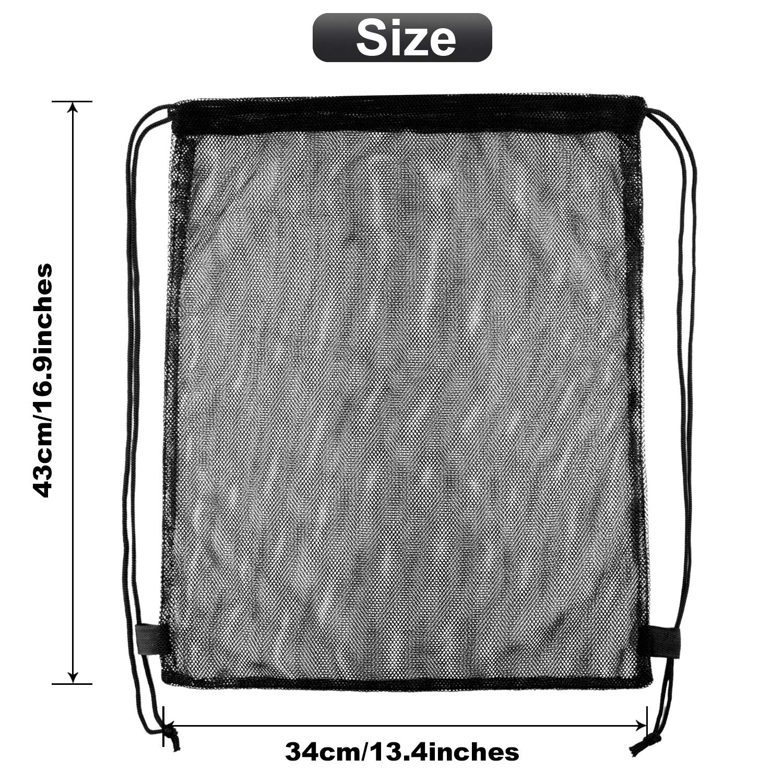 Clear Drawstring Bag Transparent Drawstring Traveling Sport Bags Backpack Cinch Gym Bags Black 2