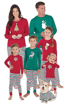 dea298cd7b Pajamagram women holiday stripe matching family pyjama set clothing jpg  280x445 Matching family pajamas sale uk