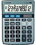 Canon 12桁電卓 LS-122TUG SOB グリーン購入法適合 千万単位表示 時間計算付 税計算可 ミニ卓上タイプ