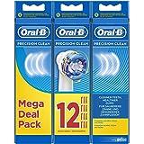 Braun Oral-B博朗欧乐B 精密清洁电动更换牙刷头 – 12支