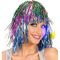 Disco Multicolour Wig for Hair Accessory Fancy Dress