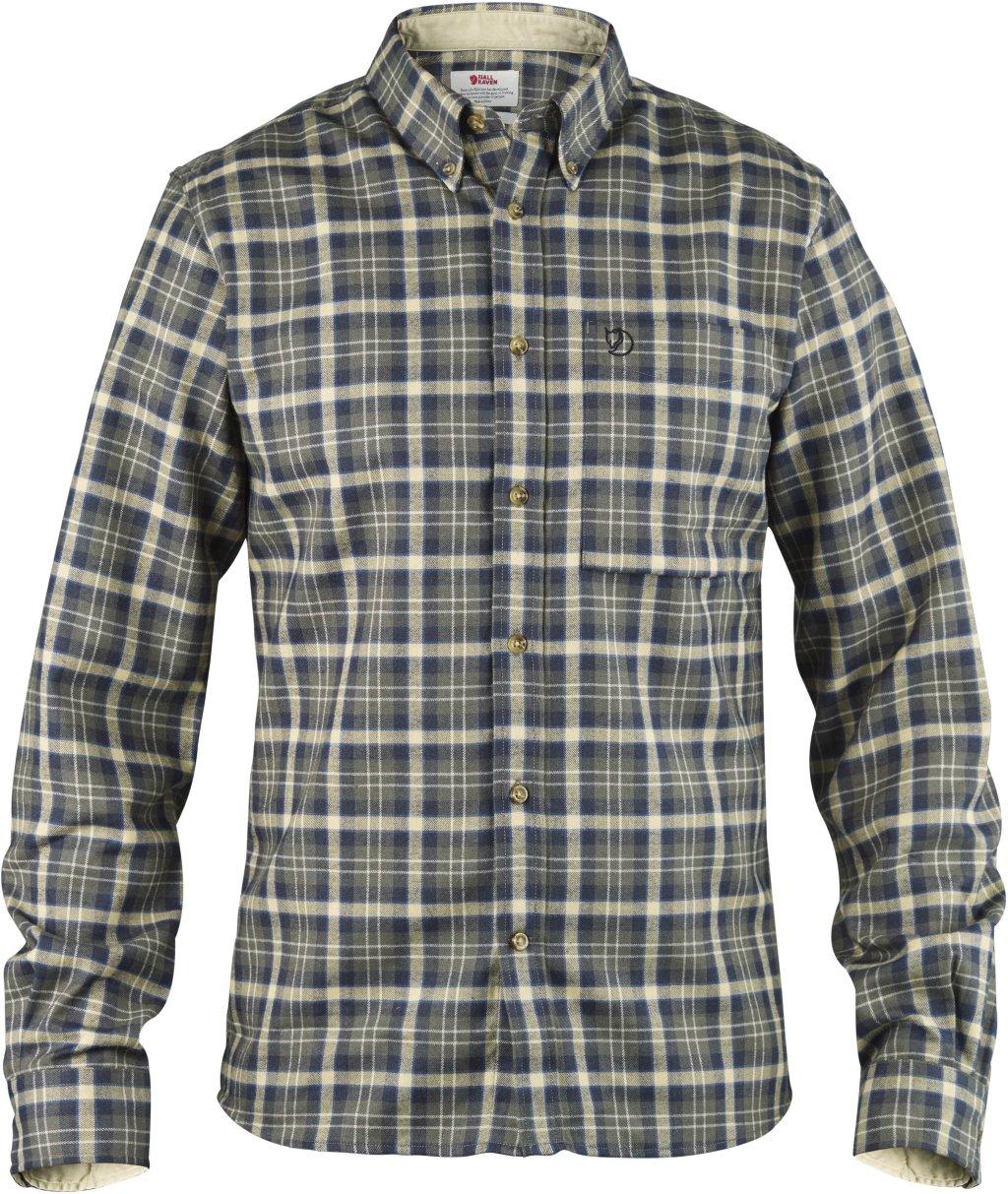 Fjällräven Herren Stig Flannel Shirt Oberhemd