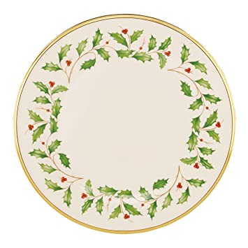 Amazon.com Lenox Holiday Dinner Plate Lenox Holiday Dinner Plate Kitchen u0026 Dining  sc 1 st  Amazon.com & Amazon.com: Lenox Holiday Dinner Plate: Lenox Holiday Dinner Plate ...