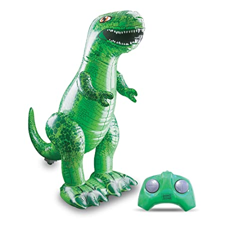 Bladez Toys Inflatable T-Rex Dinosaurs Remote Controlled Toy