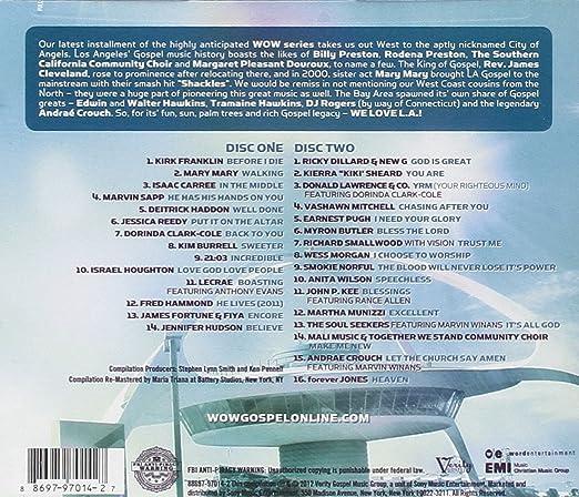 4645cdf93c Wow Gospel 2012 - Kirk Franklin, Isaac Carree, Israel Houghton, Jennifer  Hudson, Fred Hammond, Richard Smallwood, Martha Munizzi, Vashawn Mitchell,  ...