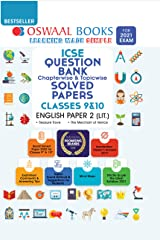 Oswaal ICSE Question Bank Chapterwise & Topicwise Solved Papers, Class-10, English Paper - 2 (Literature) (For 2021 Exam) Kindle Edition