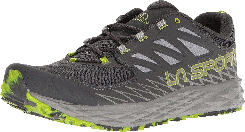La Sportiva Lycan, Zapatillas de Trail Running para Hombre 41 EU|Multicolor (Carbon/Apple Green 000)